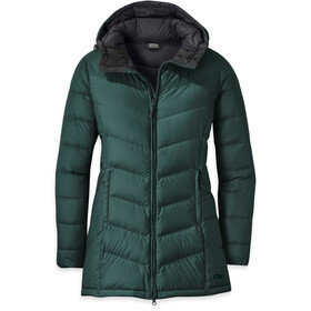 Outdoor Research Transcendent Parka de Plumas Mujer, fir